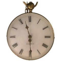 Vintage German Hanging Clock by Henri