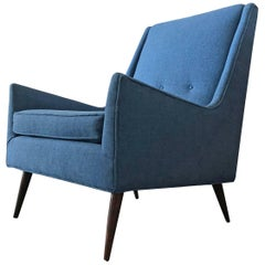 Midcentury Lounge Chair in the Style of Paul McCobb