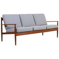 Grete Jalk Teak Sofa, Denmark, 1960s