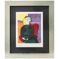 Pablo Picasso Estate Signed Limited Edition Lithograph