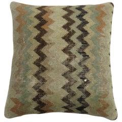 Turkish Chevron Rug Pillow