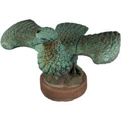 Bronze Eagle Fountain