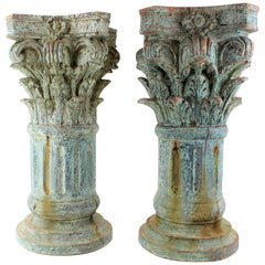 Neoclassical Pedestals and Columns