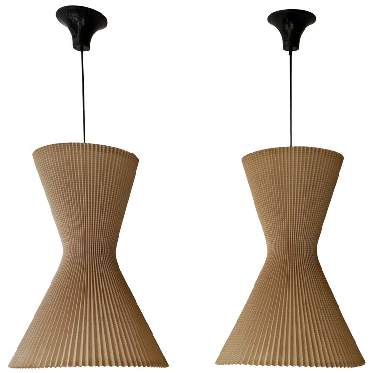 Two Pendant Lights For Sale