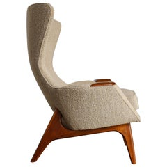 Wingback Chair by Adrian Pearsall for Craft Associates