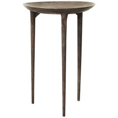 Rick Owens Bronze Three-Legged Tall Brazier Occasional Table
