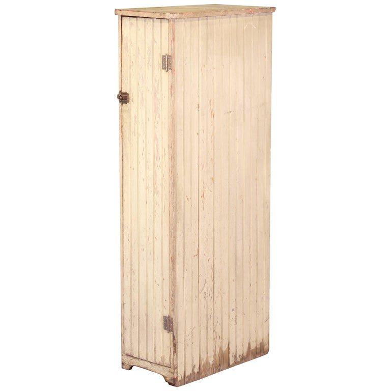 Vintage Distressed Wooden Storage Locker