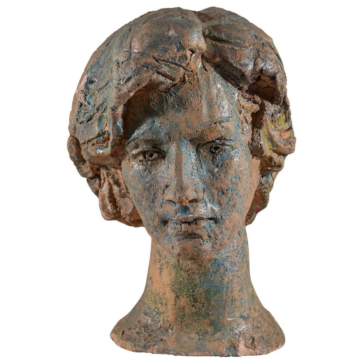 Italian Ceramic Bust