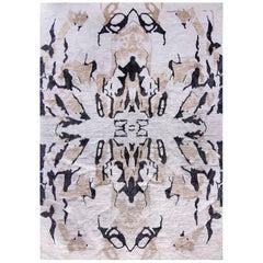 Eskayel, Mamoun, Neutral Rug, Merino/Silk Mulu Weave