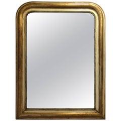 French Gilt Louis Phillipe Mirror, circa 19th Century