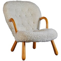 Clam Armchair by Philip Arctander