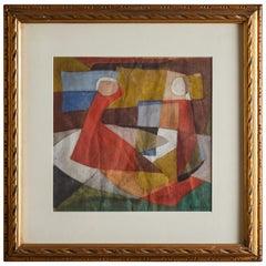 Painting by Attipio Carreri