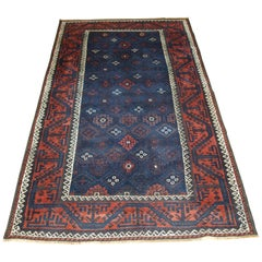 Antique Baluch Rug from Western Afghanistan or Eastern Persia