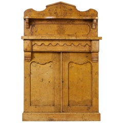 English 19th Century Burr Elm Chiffonier