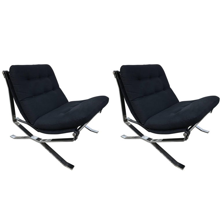 Pair of Armchairs Lotus by Ico Parisi for MIM, Italy, 1960s