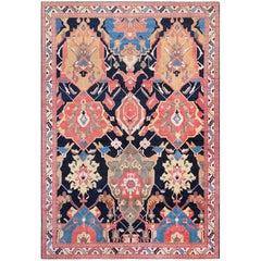 Antique Petag Persian Tabriz Rug