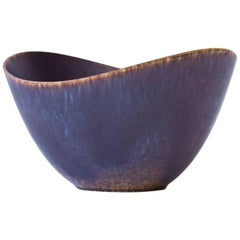 Organic Stoneware Bowl by Gunnar Nylund for Rörstrand, 1950s