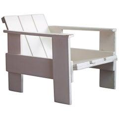 Gerrit Rietveld Prewar Crate Chair for Metz & Co, 1934