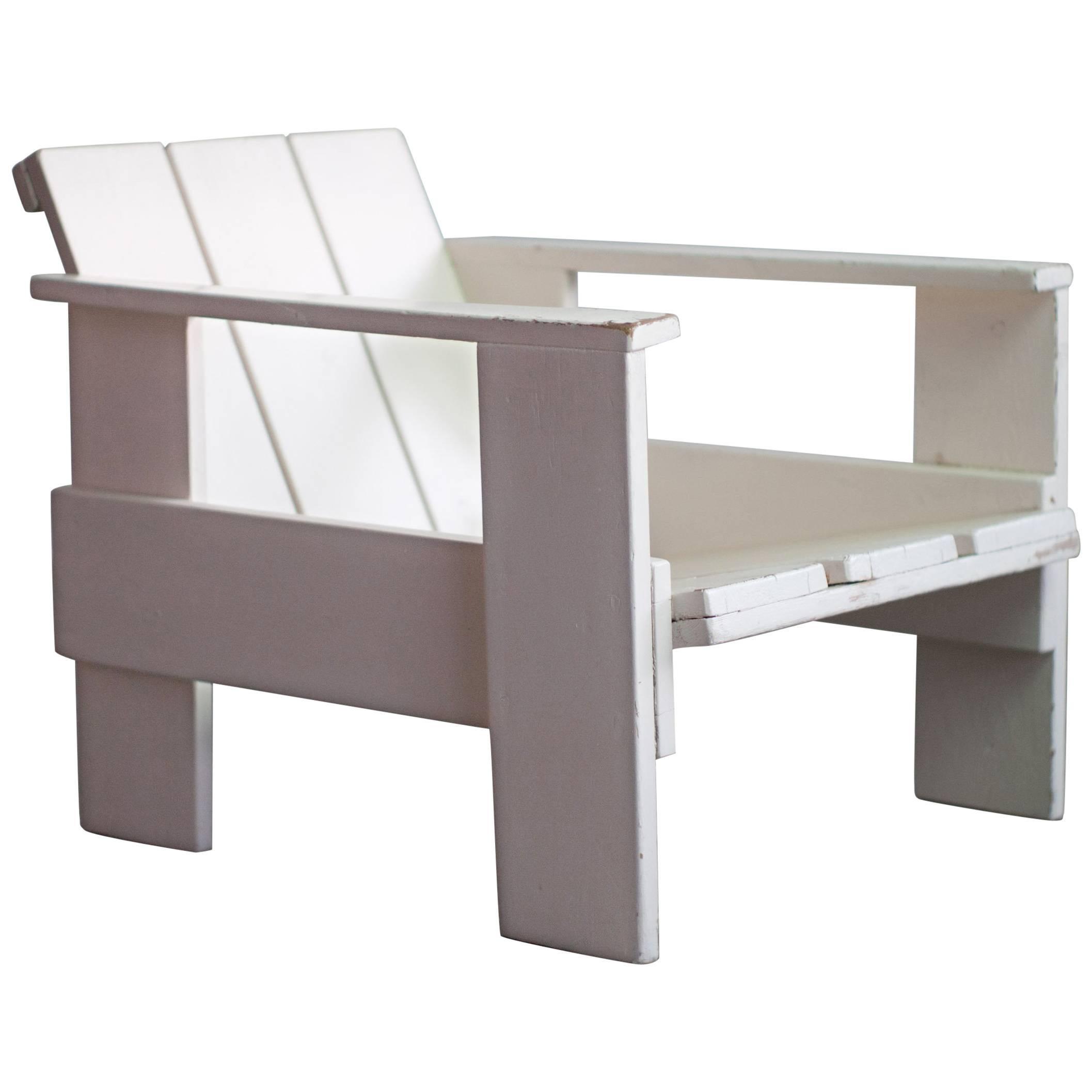 Superieur Gerrit Rietveld Prewar Crate Chair For Metz U0026 Co, 1934 For Sale