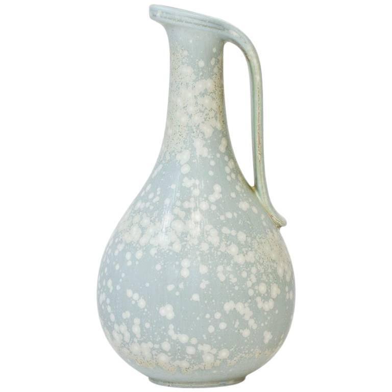 Swedish Ceramic Vase in Stoneware by Gunnar Nylund for Rörstrand, 1940s