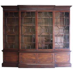 English Country House George III Bookcase