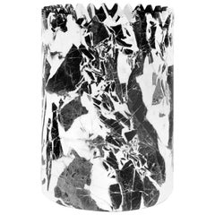 Triangoli Black Vase H by David/Nicolas for Editions Milano