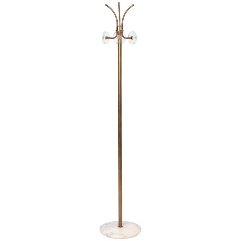 Coat Stand in the Style of Fontana Arte