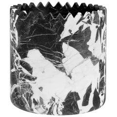 Triangoli Black Vase M, by David/Nicolas for Editions Milano