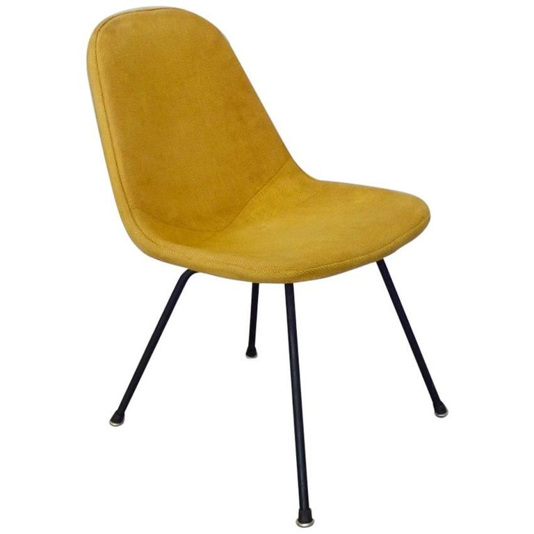 Eames Herman Miller DKR Chair on Early Production Low X-Base