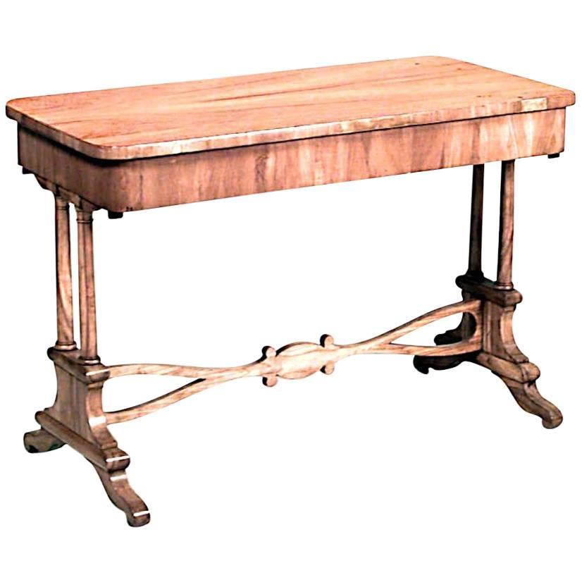 Austrian Biedermeier Cherrywood Davenport Table For Sale