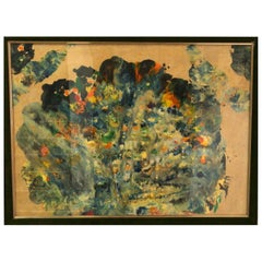 Textured Mixed-Media Abstracted, 1960