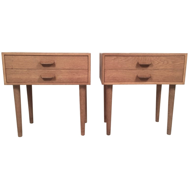 Pair of Danish Mid-Century Modern Side Tables by Poul M. Volter
