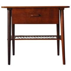 Danish Teak Side Table or Nightstand