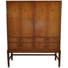 Cabinet in Cuban Mahogany by Designer and Cabinetmaker Jacob Kjær