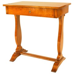 Biedermeier 'Hungarian' '19th-20th Century' Elm Wood End Table