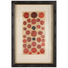 Red Wax Intaglio Seal Collection with Scottish Coats of Arms