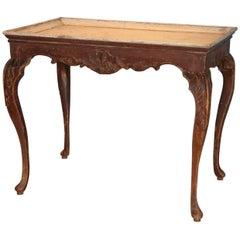 Exceptional Norwegian Rococo Tray Table, circa 1760