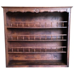 Rustic Country Plate Rack or Bookshelf