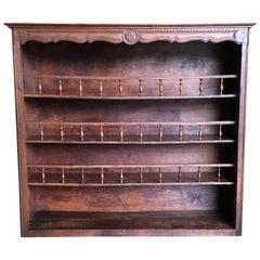 Rustic Country Plate Rack or Bookshelf