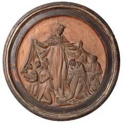 18th Century Italian Religious Carved Wood