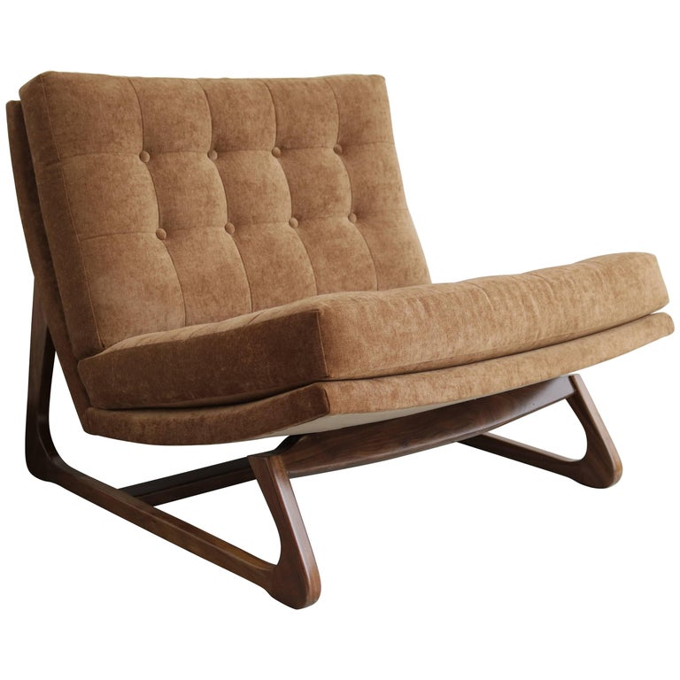 Adrian Pearsall Slipper Chair For Sale