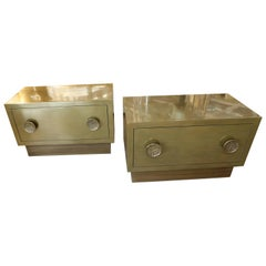 Bridges over Time Originals Mixed Brass and Bronze Coated Nightstands or Chests