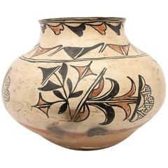 Large Historical Southwestern Pottery Jar, San Ildefonso Pueblo, circa 1890