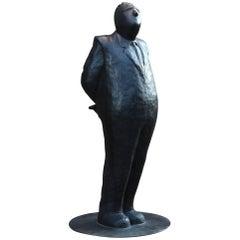 """Perspective"" Lifesize Sculpture by Jim Rennert"
