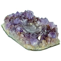 Midcentury Amethyst Ashtray from Zambie with Medium Size and Purple Color