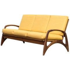 1950s New Upholstered Sofa for De Ster Gelderland