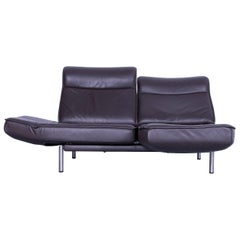 De Sede DS 450 Leather Sofa Brown Two-Seat