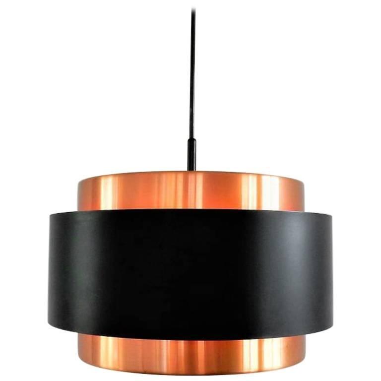 Midcentury Saturn Pendant Lamp by Jo Hammerborg for Fog & Mørup, Denmark, 1960s