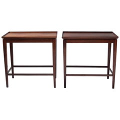 Cabinetmaker Jacob Kjær Rosewood Side Tables, 1950s