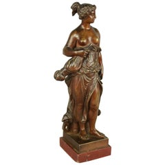 Small 19th Century Bronze Figure of Allegory of Manufacture